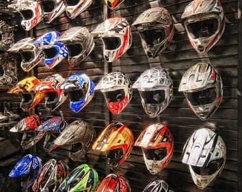 many-helmets